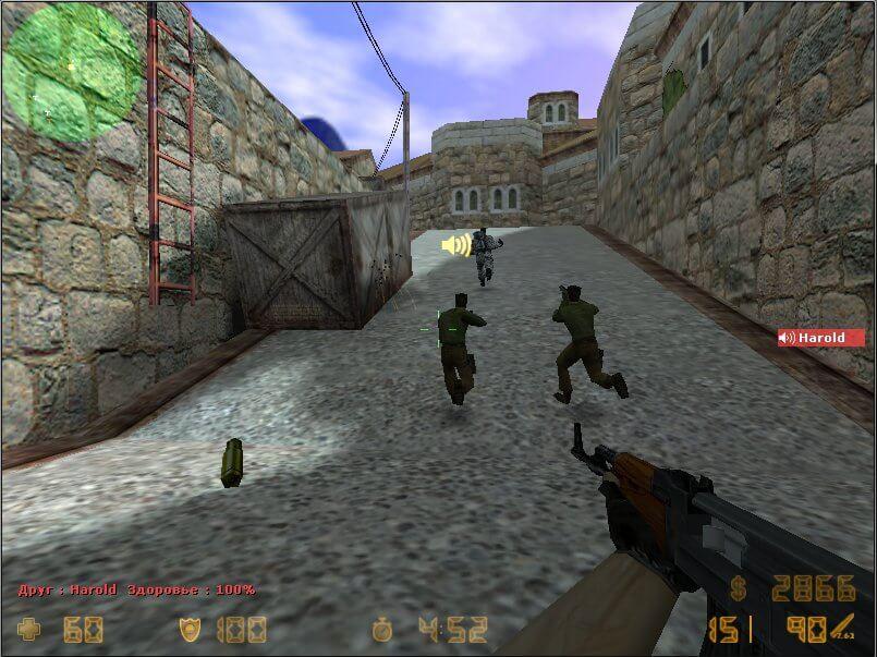 Игры Контр Страйк 1.6 По Интернету