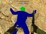 Синяя модель контр-террориста для cs 1.6