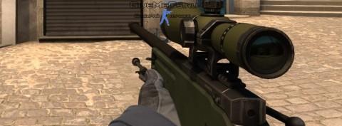 Модель оружия из CS GO адаптированная под CS 1.6