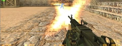 Модель оружия пулемета для CS 1.6 из CS GO