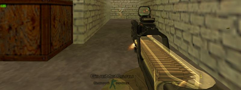 P90 Assault FN P90 On IIopn's Стрельба